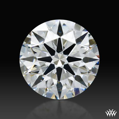 0.602 ct E VS2 A CUT ABOVE® Hearts and Arrows Super Ideal Round Cut Loose Diamond