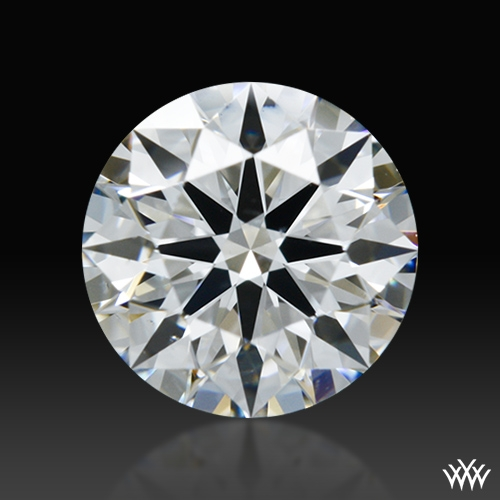 0.602 ct E VS2 A CUT ABOVE® Hearts and Arrows Super Ideal Round Cut Loose Diamond