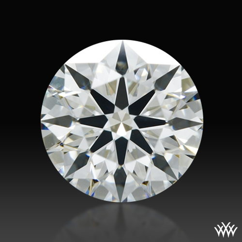 0.604 ct J VS2 A CUT ABOVE® Hearts and Arrows Super Ideal Round Cut Loose Diamond