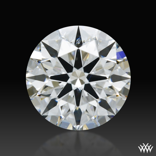 0.438 ct F SI1 A CUT ABOVE® Hearts and Arrows Super Ideal Round Cut Loose Diamond
