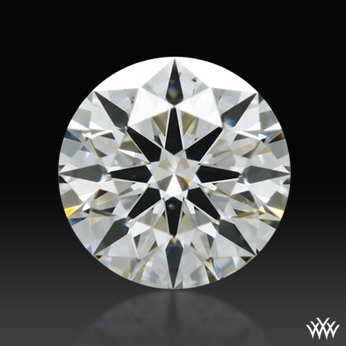 0.578 ct J VS2 A CUT ABOVE® Hearts and Arrows Super Ideal Round Cut Loose Diamond