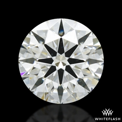 0.528 ct J VS2 A CUT ABOVE® Hearts and Arrows Super Ideal Round Cut Loose Diamond
