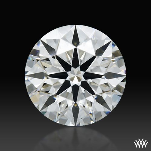 0.85 ct G VS2 A CUT ABOVE® Hearts and Arrows Super Ideal Round Cut Loose Diamond