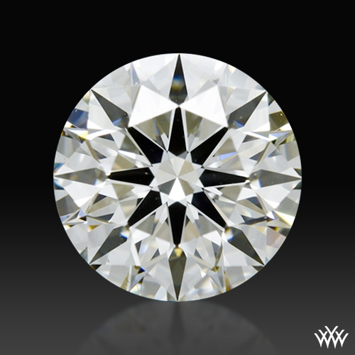 0.91 ct I VS1 A CUT ABOVE® Hearts and Arrows Super Ideal Round Cut Loose Diamond