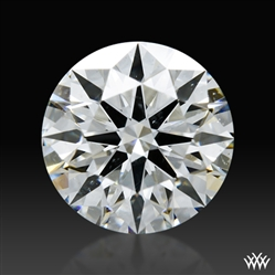 0.925 ct H SI1 A CUT ABOVE® Hearts and Arrows Super Ideal Round Cut Loose Diamond