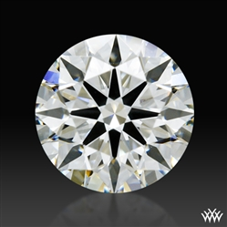 0.97 ct H VS2 A CUT ABOVE® Hearts and Arrows Super Ideal Round Cut Loose Diamond