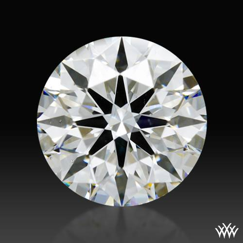0.708 ct F VS1 A CUT ABOVE® Hearts and Arrows Super Ideal Round Cut Loose Diamond