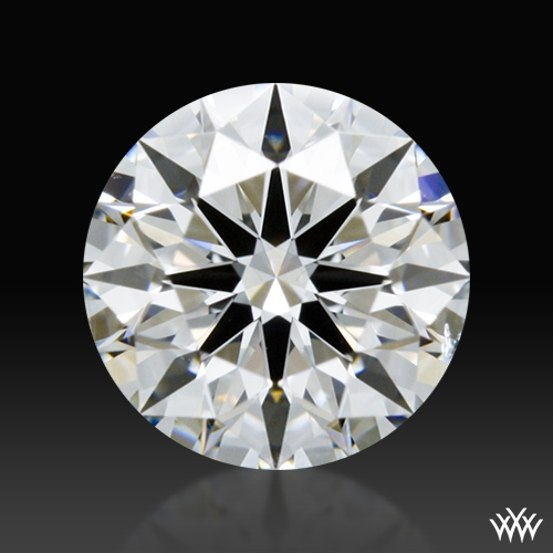 0.717 ct E SI1 A CUT ABOVE® Hearts and Arrows Super Ideal Round Cut Loose Diamond