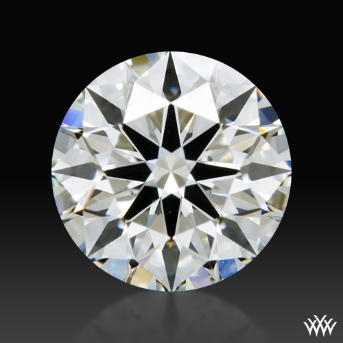 0.743 ct H VS1 A CUT ABOVE® Hearts and Arrows Super Ideal Round Cut Loose Diamond