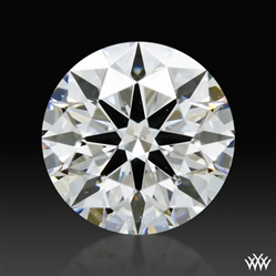 0.717 ct F VS2 A CUT ABOVE® Hearts and Arrows Super Ideal Round Cut Loose Diamond