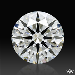 0.831 ct H SI1 A CUT ABOVE® Hearts and Arrows Super Ideal Round Cut Loose Diamond