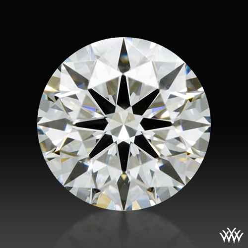 0.748 ct I VS2 A CUT ABOVE® Hearts and Arrows Super Ideal Round Cut Loose Diamond