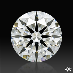 0.738 ct H VS2 A CUT ABOVE® Hearts and Arrows Super Ideal Round Cut Loose Diamond