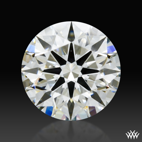 0.877 ct I VS2 A CUT ABOVE® Hearts and Arrows Super Ideal Round Cut Loose Diamond