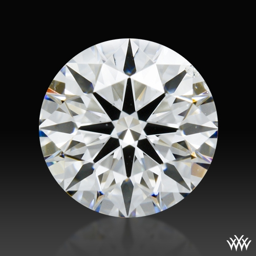 0.858 ct F SI1 Premium Select Round Cut Loose Diamond