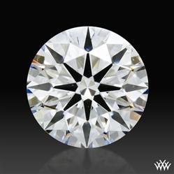 0.858 ct F SI1 Premium Select Round Cut Loose Diamond