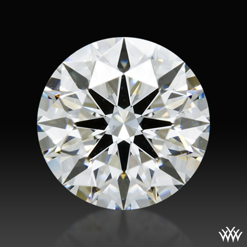 1.114 ct G VS2 A CUT ABOVE® Hearts and Arrows Super Ideal Round Cut Loose Diamond