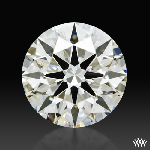 1.183 ct J SI1 A CUT ABOVE® Hearts and Arrows Super Ideal Round Cut Loose Diamond