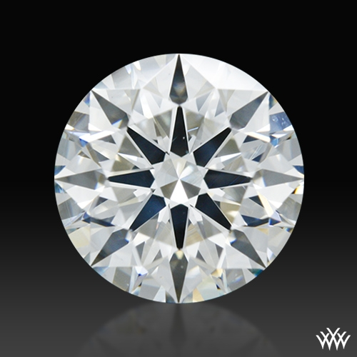 1.702 ct I SI1 A CUT ABOVE® Hearts and Arrows Super Ideal Round Cut Loose Diamond