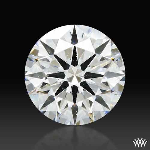 2.025 ct I SI2 A CUT ABOVE® Hearts and Arrows Super Ideal Round Cut Loose Diamond