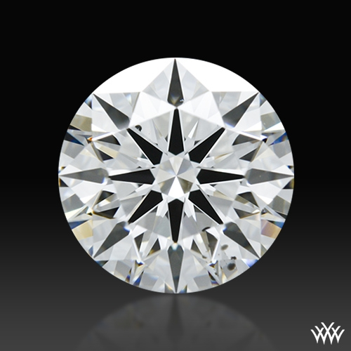 2.024 ct G SI1 A CUT ABOVE® Hearts and Arrows Super Ideal Round Cut Loose Diamond