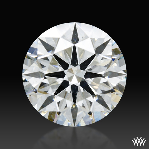 1.316 ct H SI2 A CUT ABOVE® Hearts and Arrows Super Ideal Round Cut Loose Diamond
