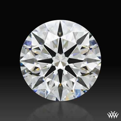 1.85 ct H VS2 A CUT ABOVE® Hearts and Arrows Super Ideal Round Cut Loose Diamond