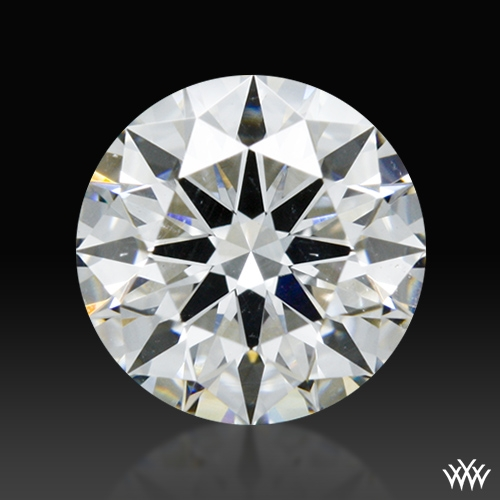 0.817 ct G SI1 A CUT ABOVE® Hearts and Arrows Super Ideal Round Cut Loose Diamond