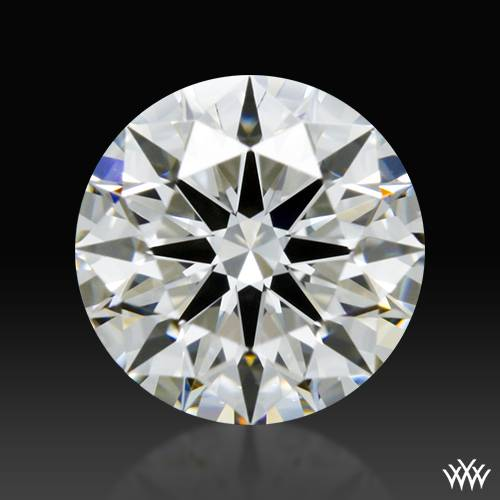 0.82 ct H VS2 A CUT ABOVE® Hearts and Arrows Super Ideal Round Cut Loose Diamond