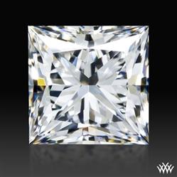 0.912 ct E VS1 A CUT ABOVE® Princess Super Ideal Cut Diamond