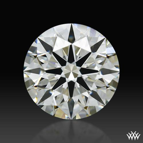 0.84 ct J VS1 A CUT ABOVE® Hearts and Arrows Super Ideal Round Cut Loose Diamond