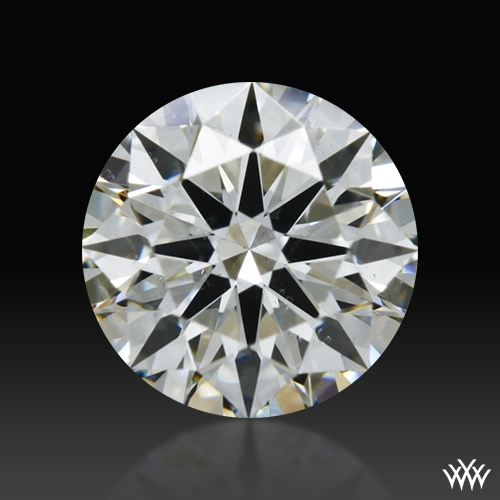 0.504 ct H SI1 A CUT ABOVE® Hearts and Arrows Super Ideal Round Cut Loose Diamond