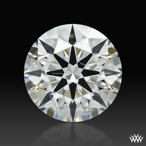 0.572 ct H SI1 A CUT ABOVE® Hearts and Arrows Super Ideal Round Cut Loose Diamond