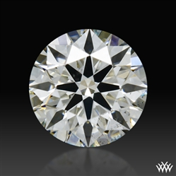 0.40 ct J SI1 A CUT ABOVE® Hearts and Arrows Super Ideal Round Cut Loose Diamond
