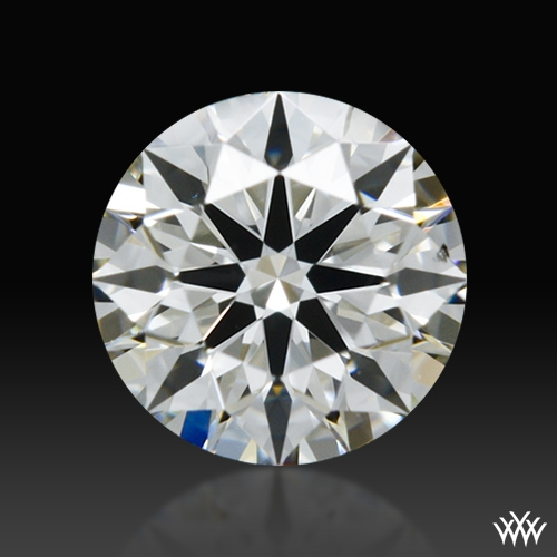 0.367 ct H VS2 A CUT ABOVE® Hearts and Arrows Super Ideal Round Cut Loose Diamond