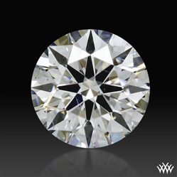 0.308 ct I SI1 A CUT ABOVE® Hearts and Arrows Super Ideal Round Cut Loose Diamond