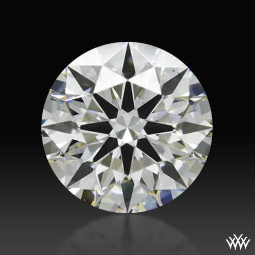 0.532 ct J VS2 A CUT ABOVE® Hearts and Arrows Super Ideal Round Cut Loose Diamond