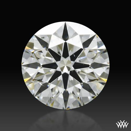 0.522 ct J SI1 A CUT ABOVE® Hearts and Arrows Super Ideal Round Cut Loose Diamond