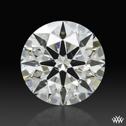 0.706 ct J SI1 A CUT ABOVE® Hearts and Arrows Super Ideal Round Cut Loose Diamond