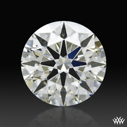 0.61 ct J VS2 A CUT ABOVE® Hearts and Arrows Super Ideal Round Cut Loose Diamond