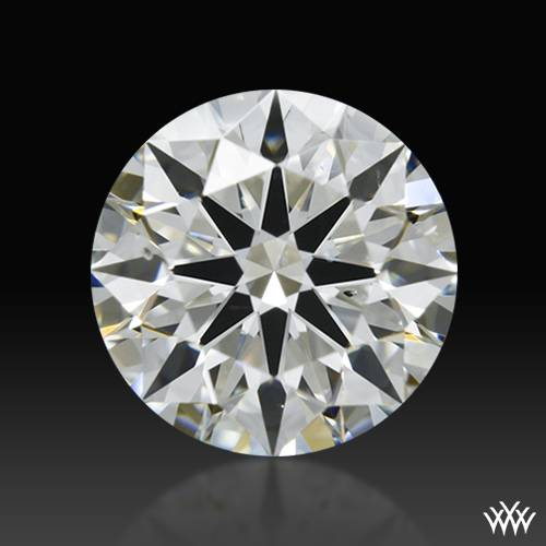 0.753 ct I SI1 A CUT ABOVE® Hearts and Arrows Super Ideal Round Cut Loose Diamond