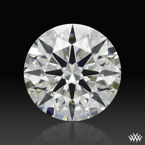 0.608 ct I SI2 A CUT ABOVE® Hearts and Arrows Super Ideal Round Cut Loose Diamond