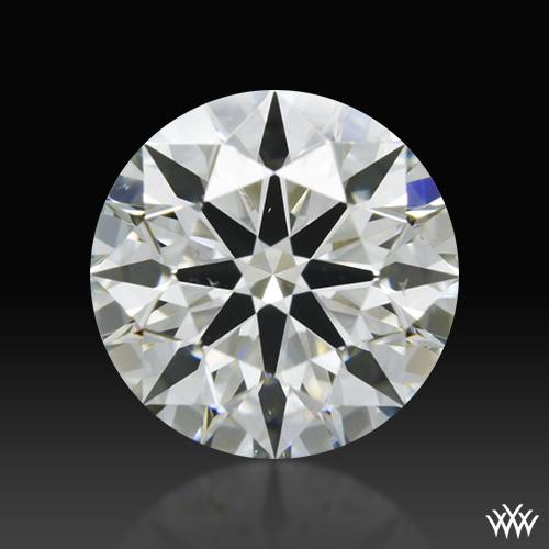 0.724 ct J VS2 A CUT ABOVE® Hearts and Arrows Super Ideal Round Cut Loose Diamond