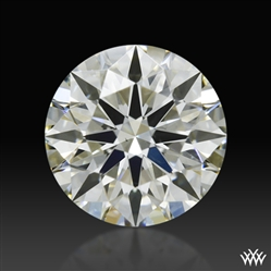 0.513 ct K SI1 A CUT ABOVE® Hearts and Arrows Super Ideal Round Cut Loose Diamond