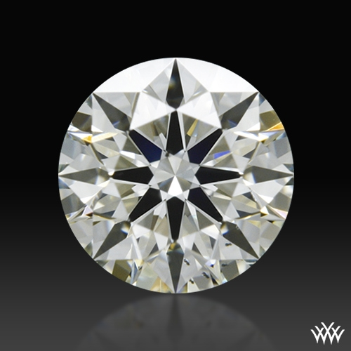 0.51 ct K SI1 A CUT ABOVE® Hearts and Arrows Super Ideal Round Cut Loose Diamond