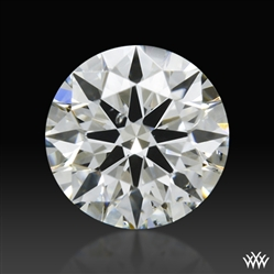 0.351 ct H SI1 A CUT ABOVE® Hearts and Arrows Super Ideal Round Cut Loose Diamond