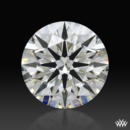0.421 ct I VS2 A CUT ABOVE® Hearts and Arrows Super Ideal Round Cut Loose Diamond