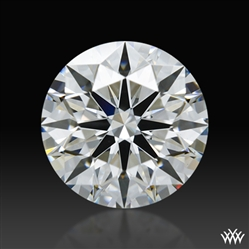 1.105 ct F VS2 A CUT ABOVE® Hearts and Arrows Super Ideal Round Cut Loose Diamond