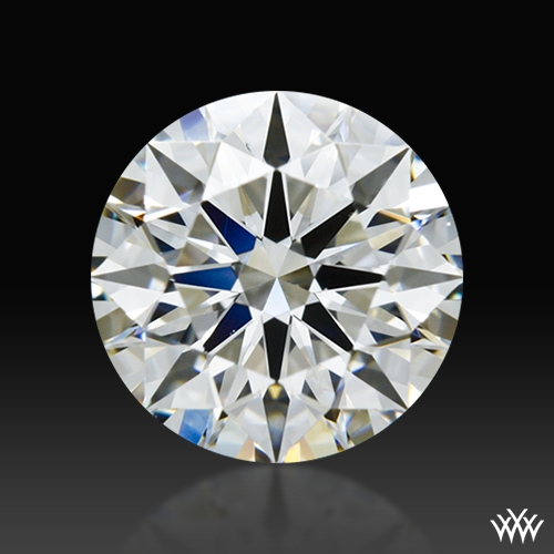 1.306 ct G VS1 A CUT ABOVE® Hearts and Arrows Super Ideal Round Cut Loose Diamond