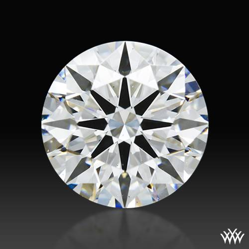 1.724 ct D VS2 A CUT ABOVE® Hearts and Arrows Super Ideal Round Cut Loose Diamond